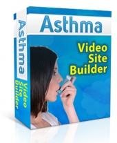 Asthma Video Site Builder Software with private label rights
