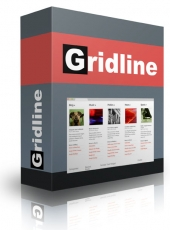 Gridline WordPress Theme Template with Personal Use Rights