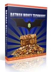 Batman Money Technique Audio with Personal Use Rights