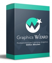 Graphics Wizard Graphic with Personal Use Rights