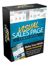 Visual Sales Page Templates Template with Personal Use Rights