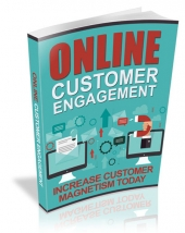 Online Customer Engagement eBook with Master Resell Rights