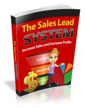 Sales Lead System eBook with private label rights