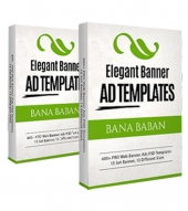 Elegant Banner Ads OTO Graphic with private label rights