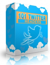 101 Twitter Headers Graphic with Personal Use Rights/Developer Rights