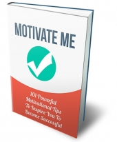 Motivate Me eBook with Private Label Rights