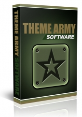 Theme Army Software Software with Master Resell Rights