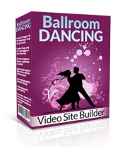 Ballroom Dancing Video Site Builder Software with Master Resell Rights