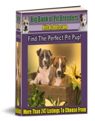 Big Book of Pit Breeders eBook with Resell Rights