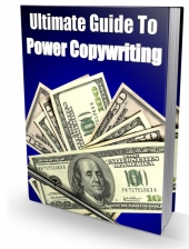 Ultimate Guide To Power Copywriting eBook with Master Resell Rights/Giveaway Rights