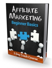 Affiliate Marketing Beginner Basics eBook with Private Label Rights