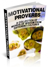 Motivational Proverbs eBook with Master Resell Rights