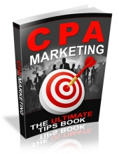 CPA Marketing eBook with Master Resell Rights/Giveaway Rights