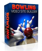 Bowling Video Site Builder eBook with Master Resell Rights