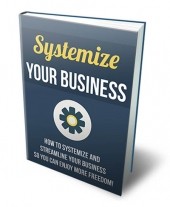 Systemize Your Business eBook with Private Label Rights