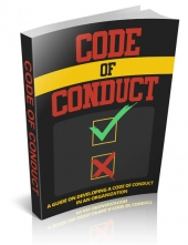 Code of Conduct eBook with Master Resell Rights/Giveaway Rights