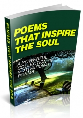 Poems That Inspire The Soul eBook with Master Resell Rights