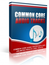 Common Core Audio Tracks Audio with Private Label Rights
