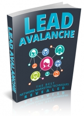 Lead Avalanche eBook with Master Resell Rights/Giveaway Rights