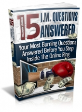 15 IM Questions Answered eBook with Master Resell Rights