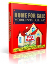 Home For Sale Mobile Site Builder Software with Private Label Rights