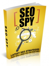 SEO Spy eBook with Master Resell Rights/Giveaway
