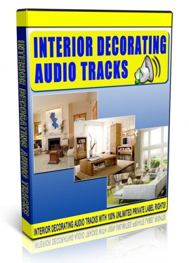 Interior Decorating Audio Tracks