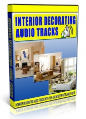 Interior Decorating Audio Tracks Audio with private label rights