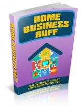 Home Business Buff eBook with Master Resell Rights/Giveaway