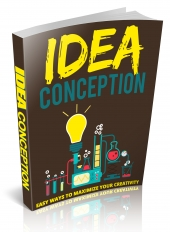 Idea Conception eBook with private label rights