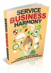 Service Business Harmony eBook with Master Resell Rights/Giveaway