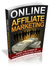 Online Affiliate Marketing eBook with Resell Rights/Giveaway Rights