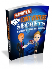 Simple Joint Venture Secrets eBook with Resell Rights/Giveaway Rights