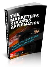 Marketers Success Affirmation eBook with private label rights