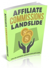 Affiliate Commissions Landslide eBook with Master Resell Rights/Giveaway
