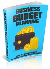 Business Budget Planning eBook with Master Resell Rights/Giveaway