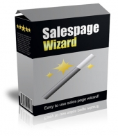 Salespage Wizard Software Software with Master Resell Rights/Giveaway