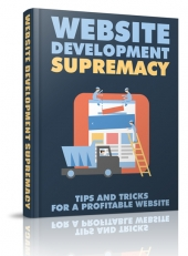 Website Development Supremacy eBook with Master Resell Rights/Giveaway