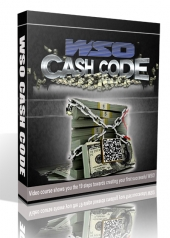 WSO Cash Code Video with Personal Use Rights