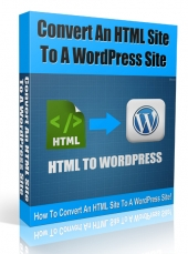 Convert HTML to WordPress Video with private label rights