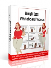 Weight Loss Whiteboard Video with Personal Use Rights