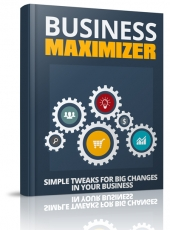 Business Maximizer eBook with Master Resell Rights/Giveaway