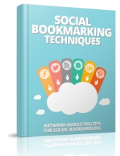Social Bookmarking Techniques eBook with Master Resell Rights/Giveaway