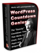 WP Countdown Genius Plugin Software with Private Label Rights