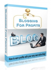 Blogging For Profits Video with Resell Rights