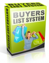 Buyer List System eBook with Personal Use Rights