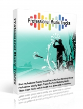 Professional Music Tracks Audio with Master Resell Rights
