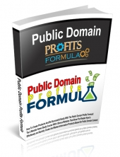 Public Domain Profits Formula eBook with private label rights