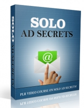 Solo Ad Secrets Video with Private Label Rights