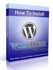 How To Install Wordpress Video with Private Label Rights
